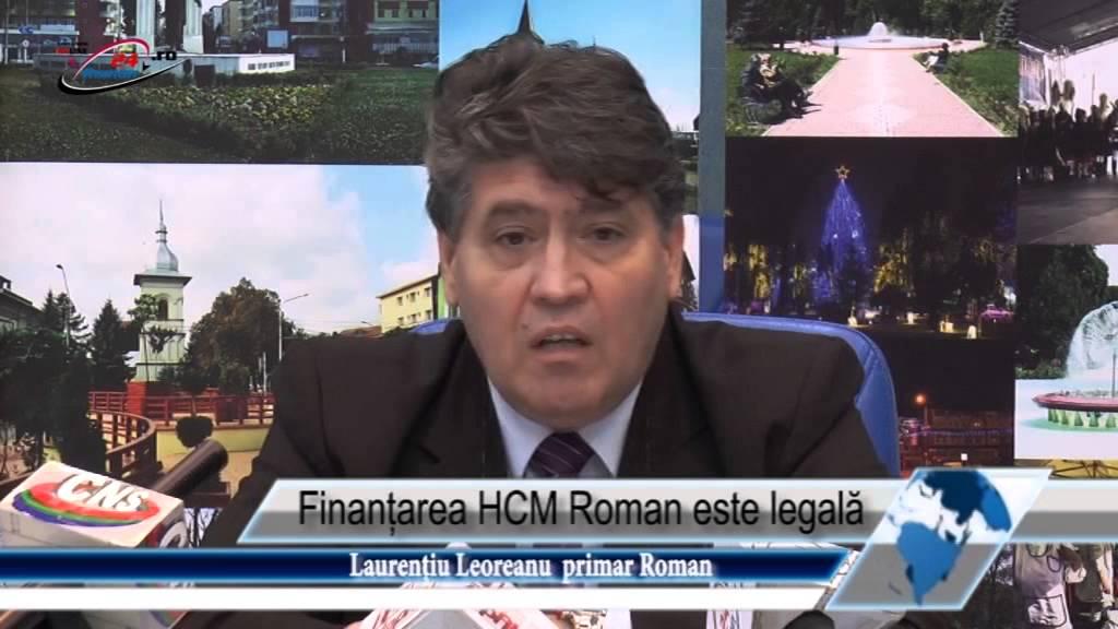 Finanțarea HCM Roman este legală