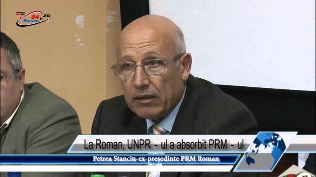 La Roman, UNPR‐ul a absorbit PRM‐ul