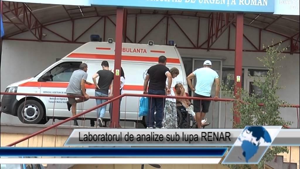 Laboratorul de analize sub lupa RENAR