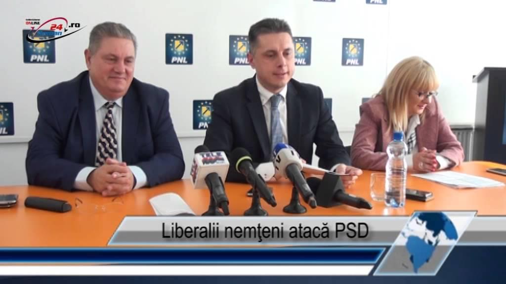 Liberalii nemţeni atacă PSD