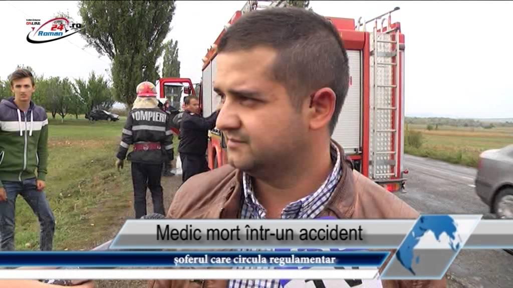 Medic mort intr-un accident