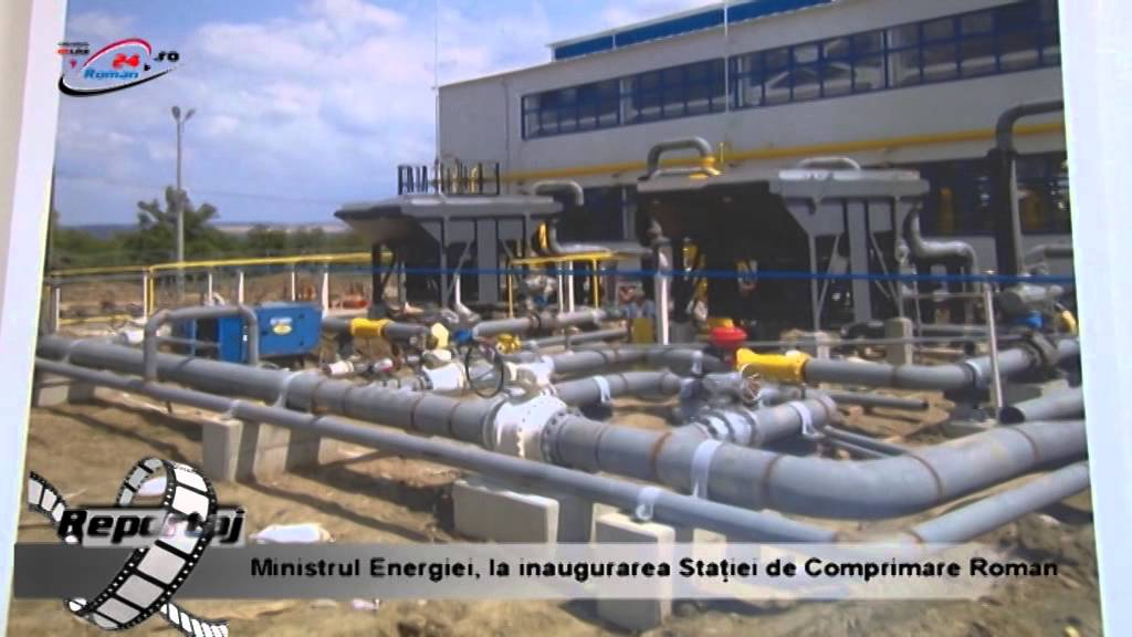 Ministrul Energiei, la inaugurarea statiei de comprimare Roman