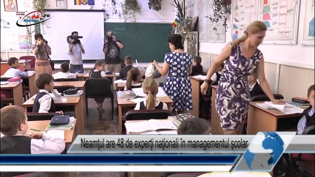 Neamţul are 48 de experţi naţionali în managementul şcolar