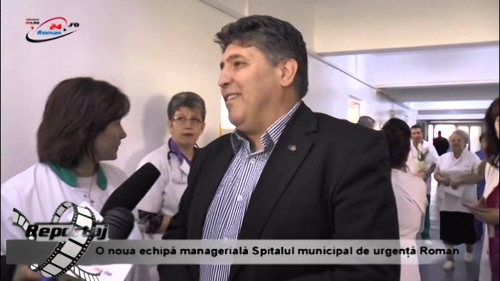 O noua echipa de conducere la Spitalul Municipal de Urgenta Roman