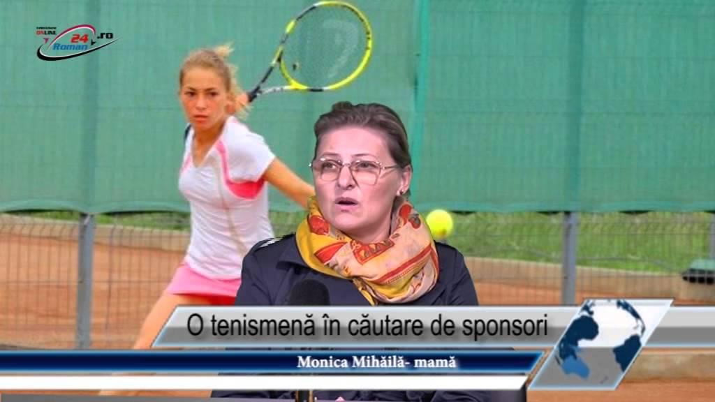 O tenismenă în căutare de sponsori