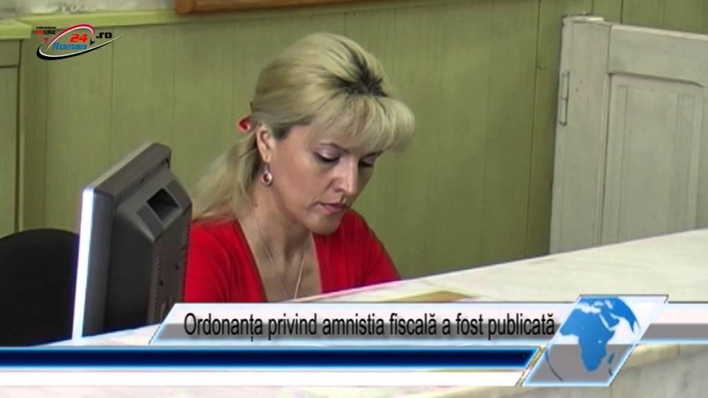 Ordonanța privind amnistia fiscală a fost publicată