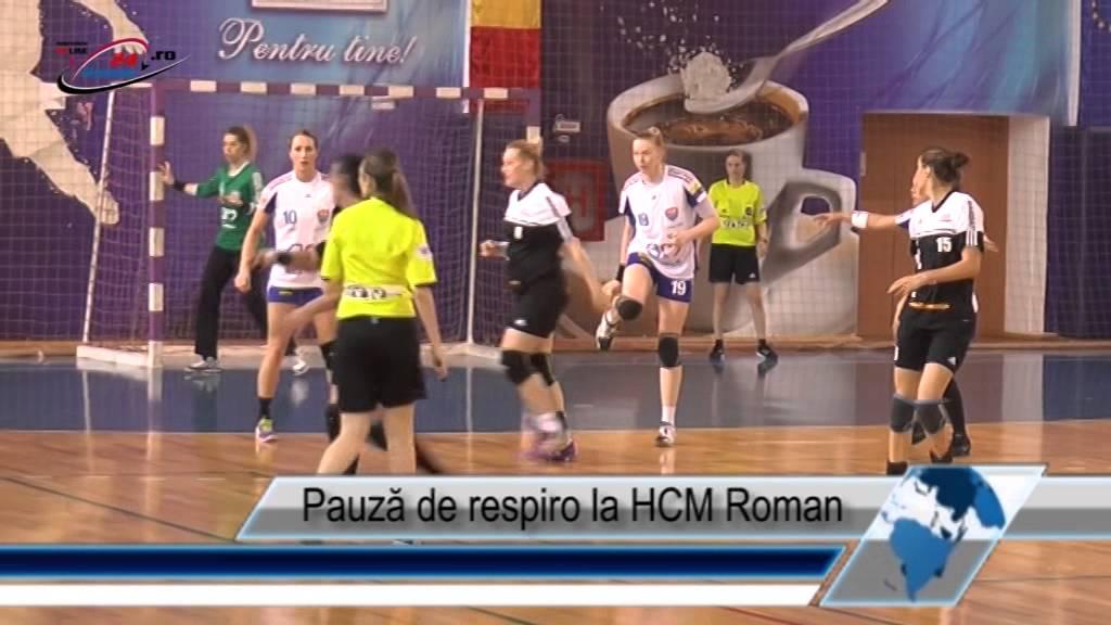 Pauză de respiro la HCM Roman