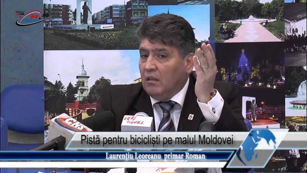 Pistă pentru bicicliști pe malul Moldovei