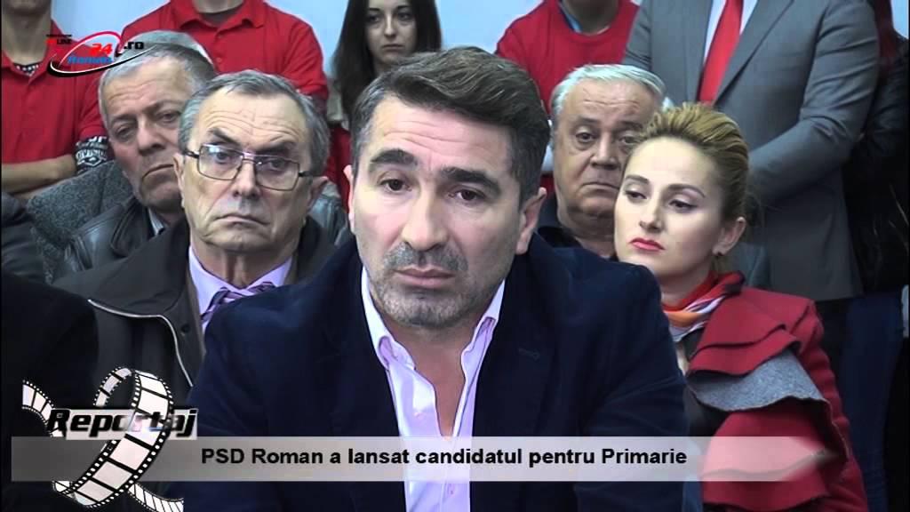 PSD Roman a lansat candidatul pentru Primarie