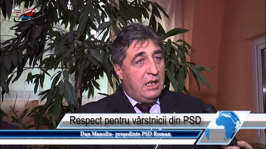 Respect pentru vârstnicii din PSD