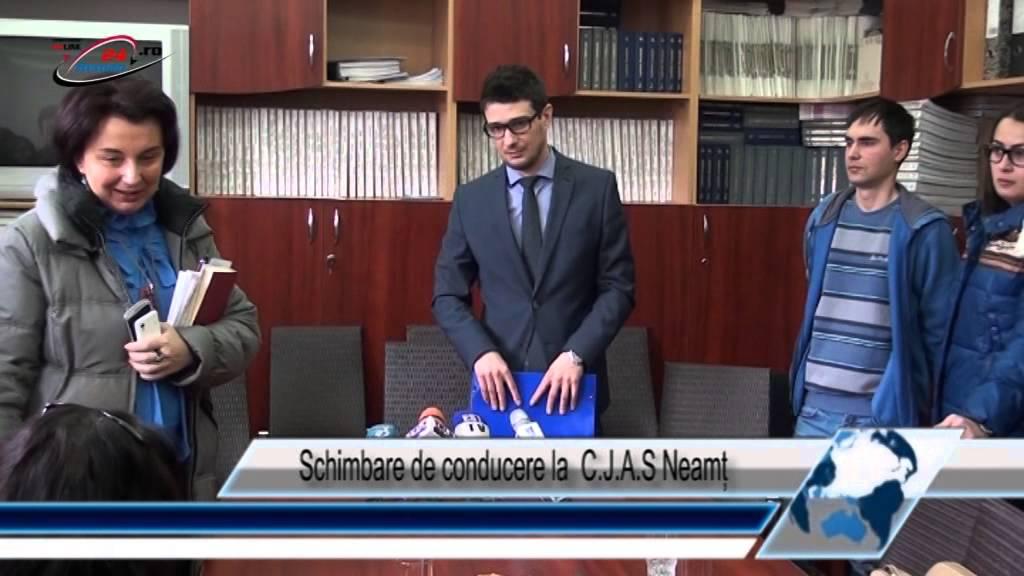 Schimbare de Conducere la C.J.A.S Neamț
