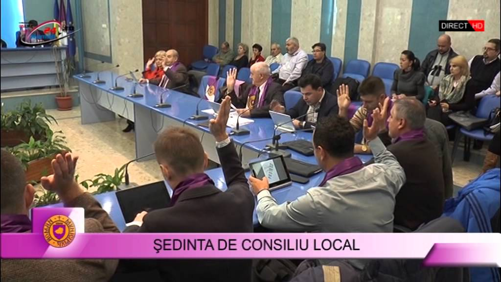 Sedinta extraordinara de consiliu local 12.10.2015