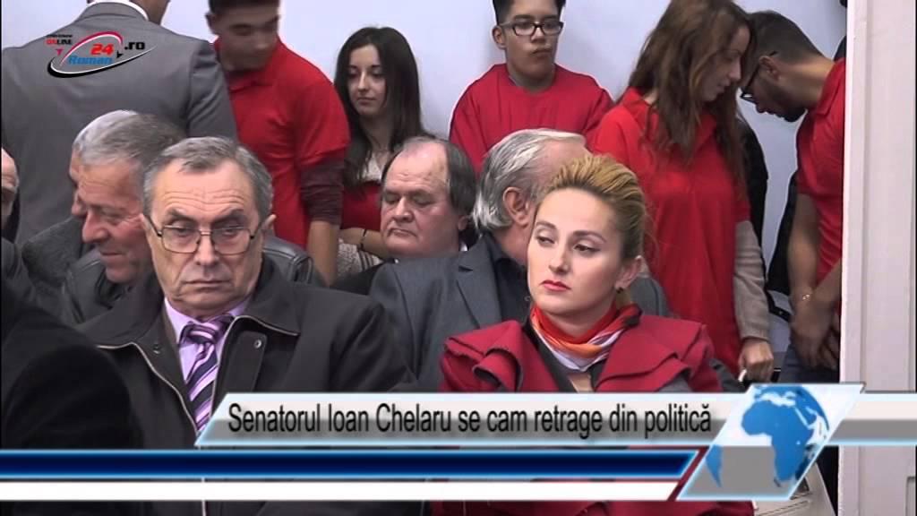 Senatorul Ioan Chelaru se cam retrage din politică