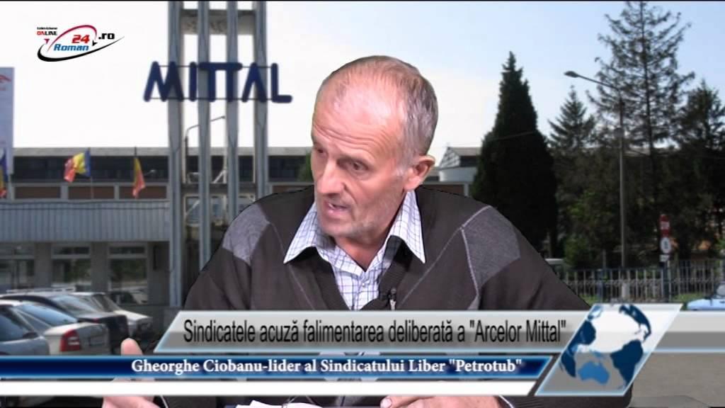 Sindicatele acuză falimentarea deliberată a  Arcelor Mittal