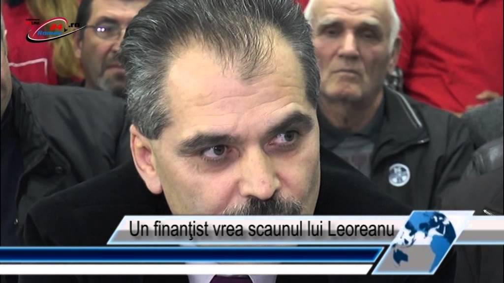 Un finanţist vrea scaunul lui Leoreanu