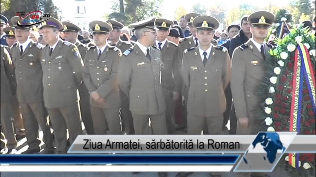 Ziua Armatei, sărbătorită la Roman
