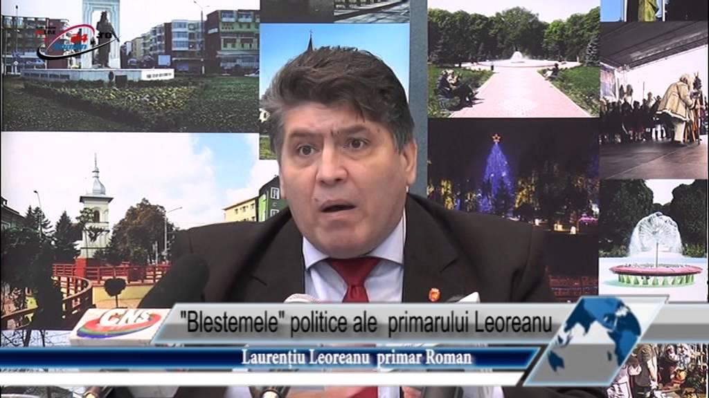 Blestemele  politice ale  primarului Leoreanu