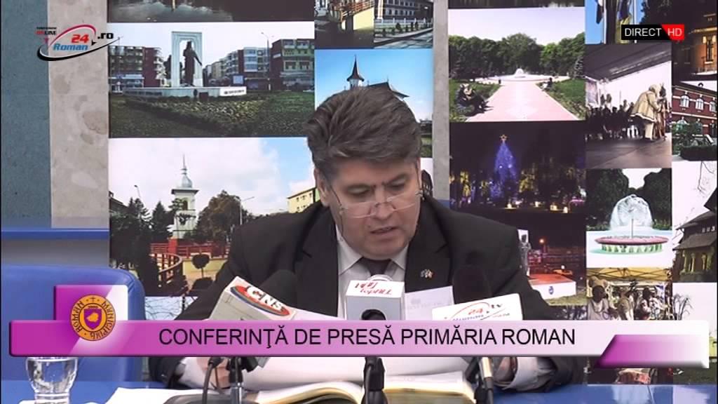 Conferinta de presa Primaria Roman 9.11.2015