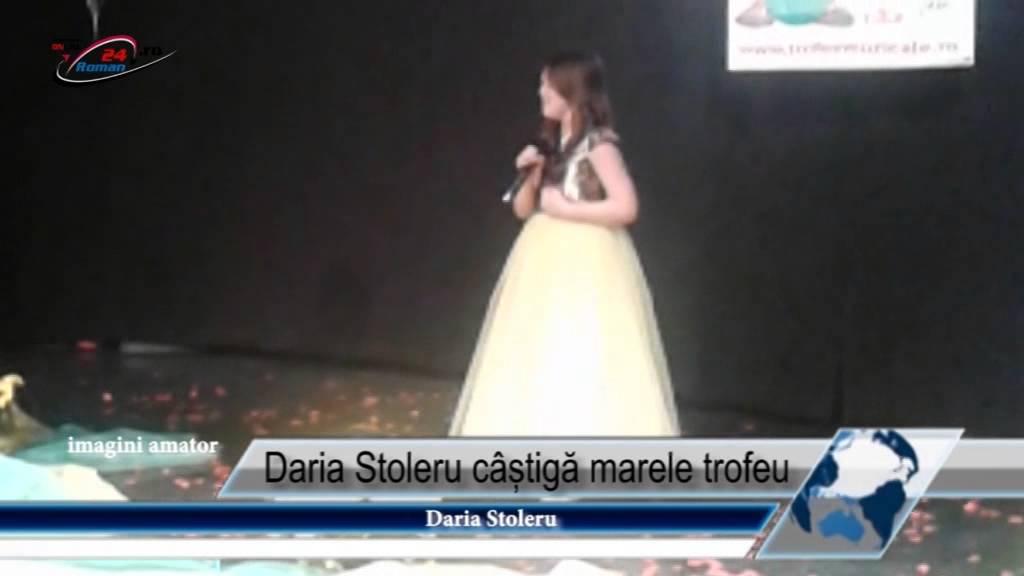 Daria Stoleru cîștigă marele trofeu
