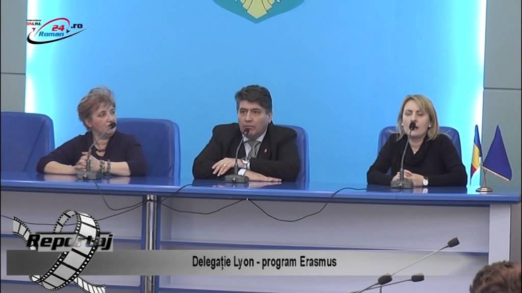 Delegație de la Lyon – program Erasmus