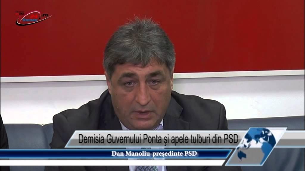 Demisia Guvernului Ponta şi apele tulburi din PSD