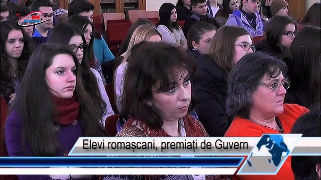 Elevi romașcani, premiați de Guvern