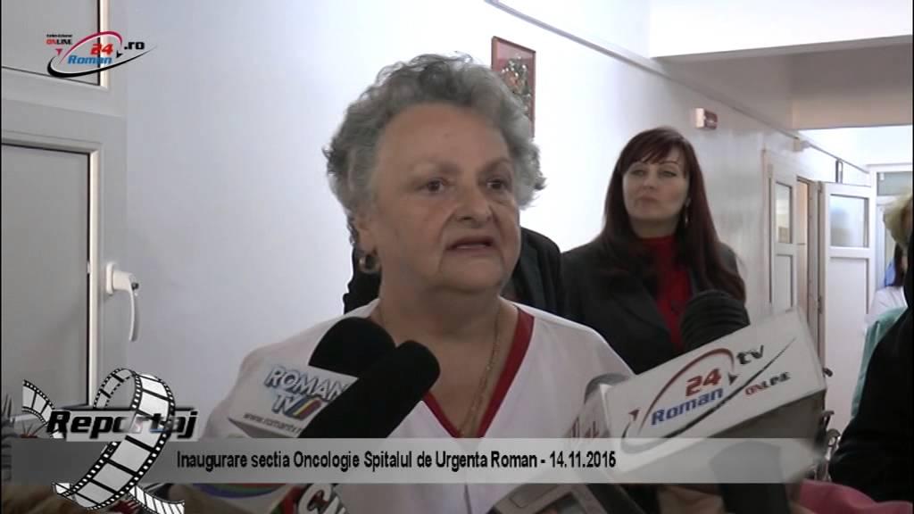 Inaugurare sectia Oncologie Spitalul de Urgenta Roman – 14.11.2015