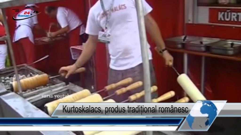 Kurtoskalacs, produs tradițional românesc