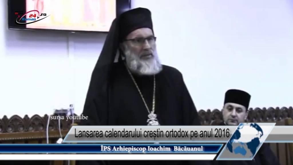 Lansarea calendarului creștin ortodox pe anul 2016
