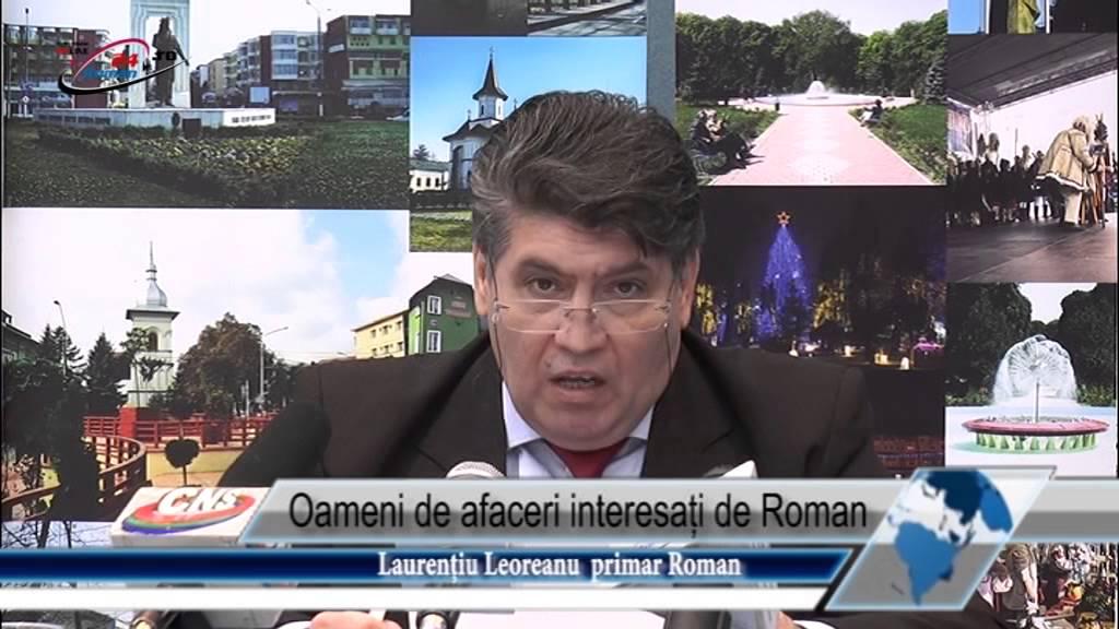 Oameni de afaceri interesați de Roman