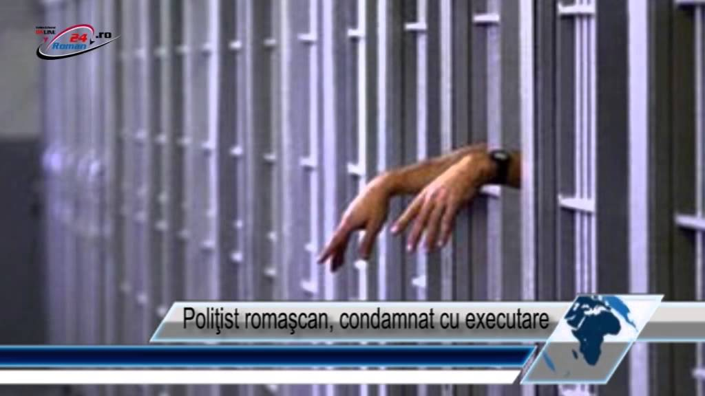 Poliţist romaşcan, condamnat cu executare