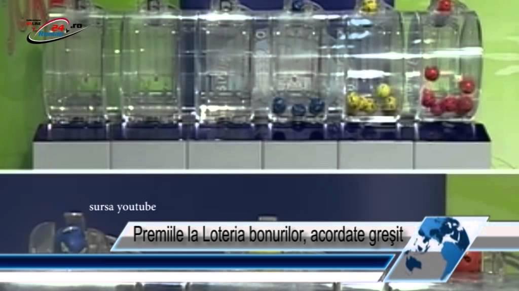 Premiile la Loteria bonurilor, acordate greşit