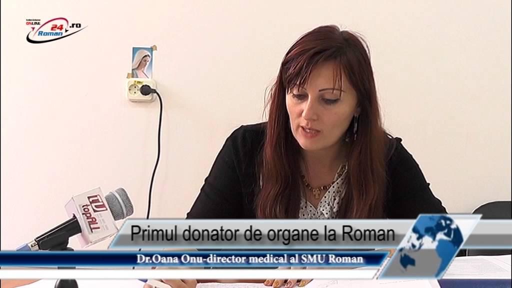 Primul donator de organe la Roman