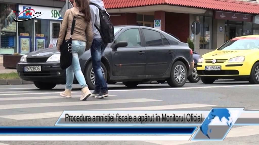 Procedura amnistiei fiscale a apărut în Monitorul Oficial