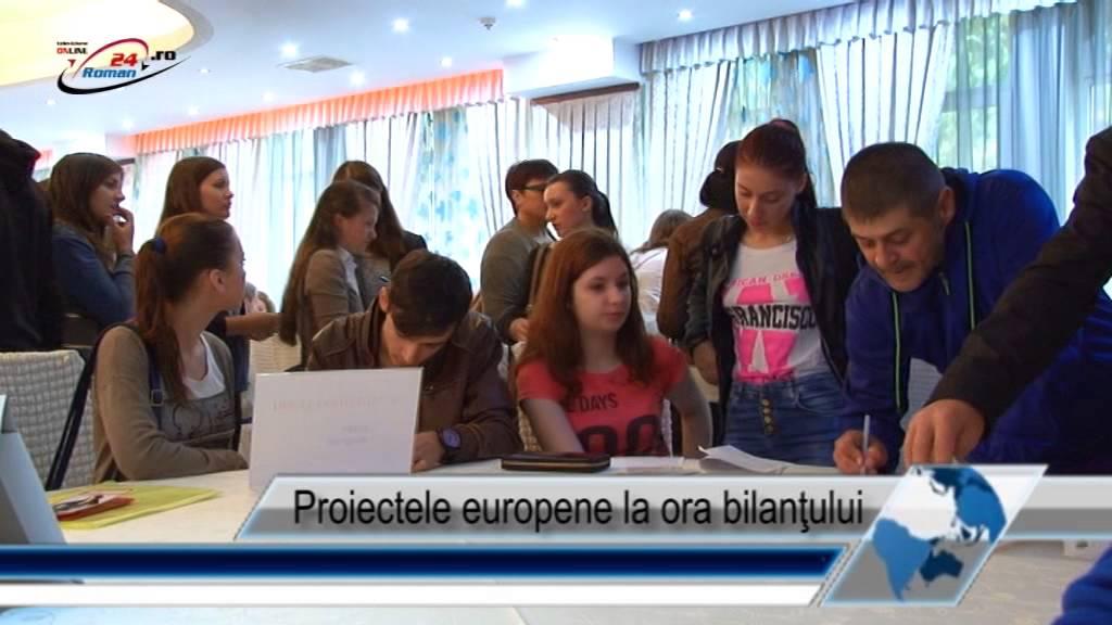 Proiectele europene la ora bilanţului