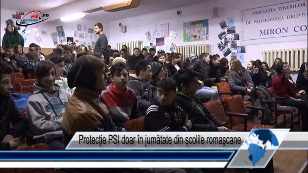 Protecţie PSI doar în jumătate din şcolile romaşcane