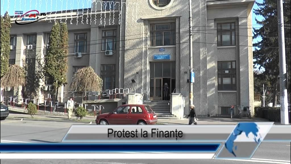 Protest la Finanțe