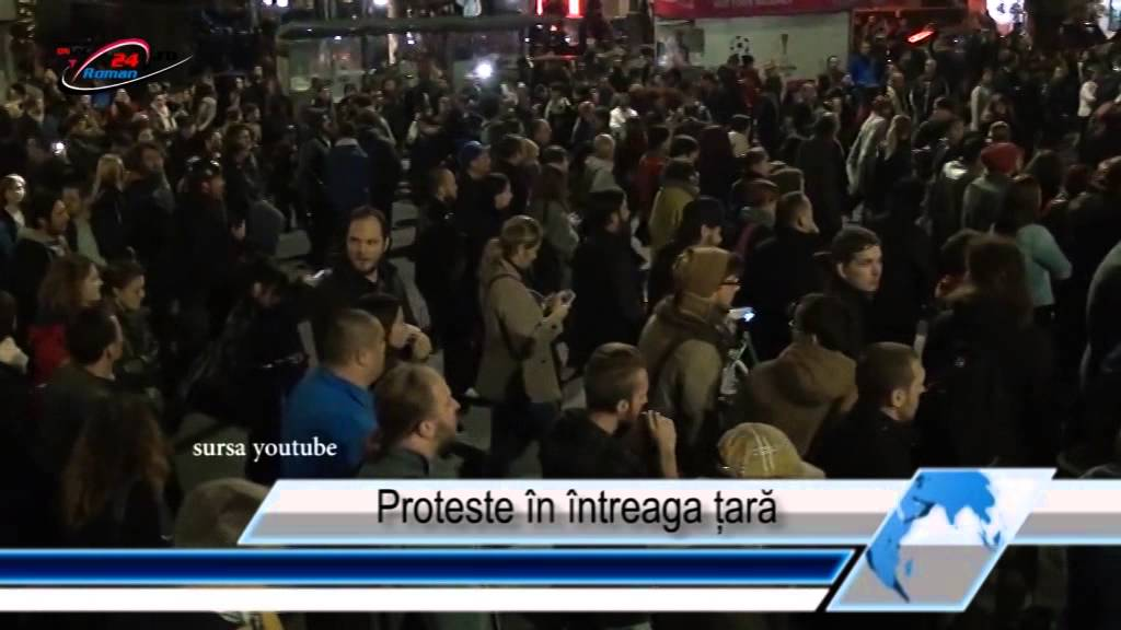 Proteste în întreaga țară