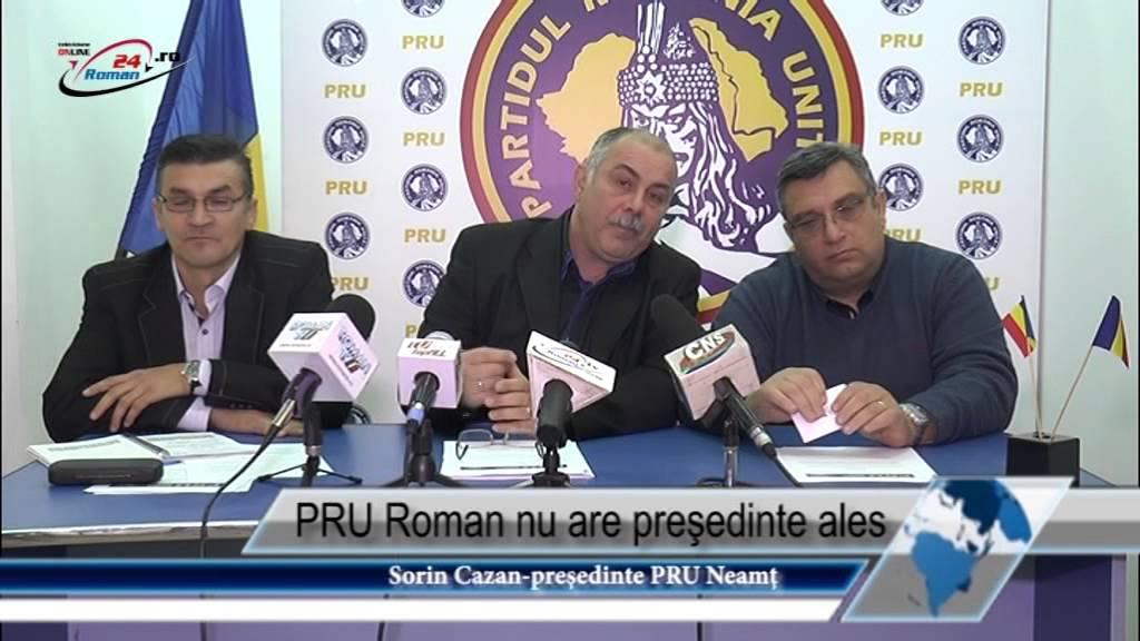 PRU Roman nu are preşedinte ales