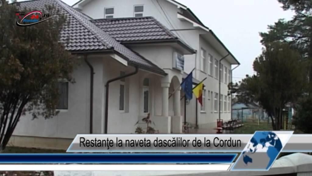 Restanţe la naveta dascălilor de la Cordun