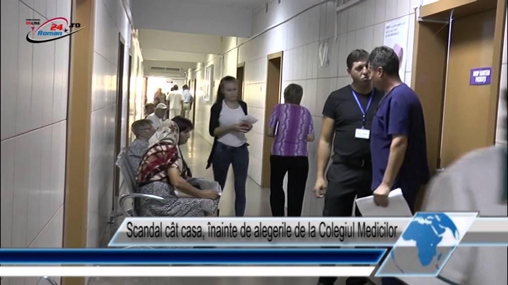 Scandal cât casa, înainte de alegerile de la Colegiul Medicilor