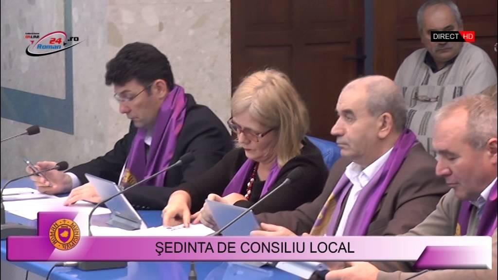 Ședință de consiliu local – 26.11.2015