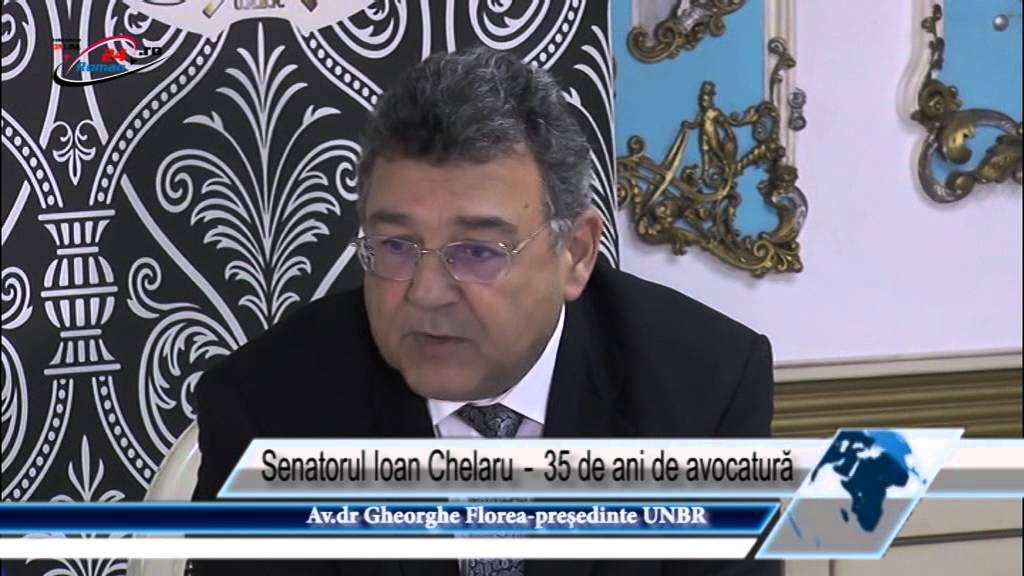 Senatorul Ioan Chelaru ‐ 35 de ani de avocatură