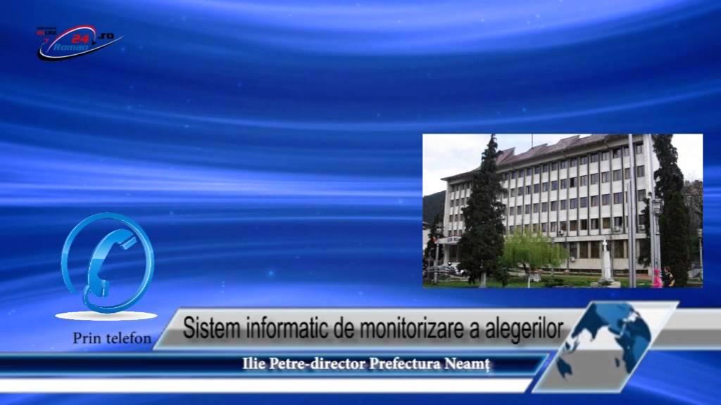 Sistem informatic de monitorizare a alegerilor