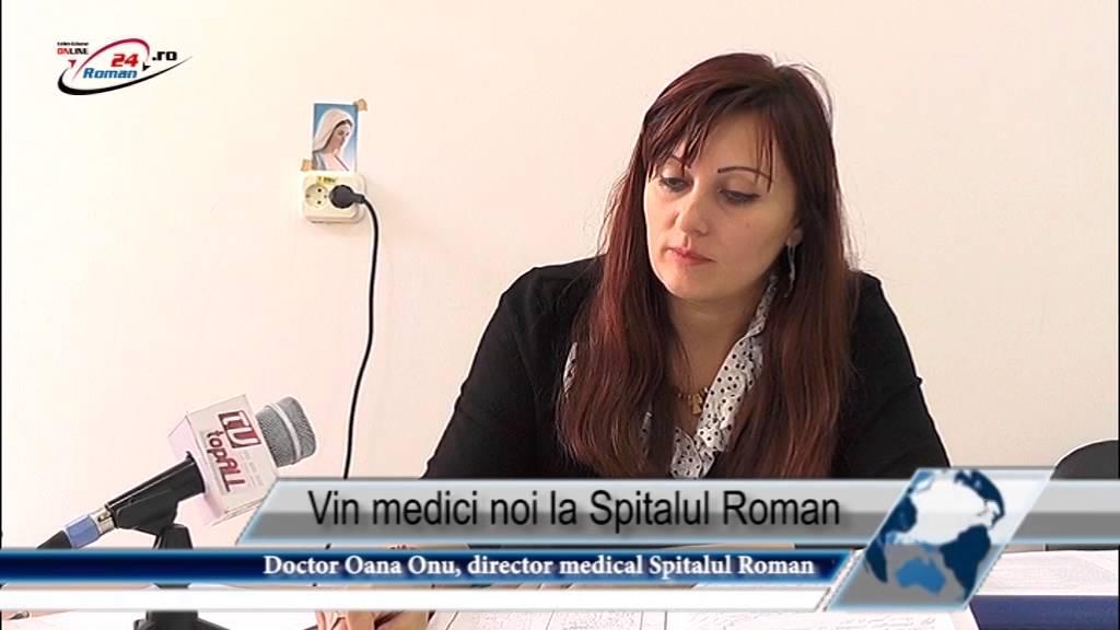 Vin medici noi la Spitalul Roman