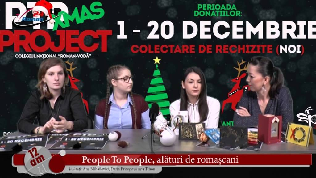 12 AM – People To People, alaturi de romascani!