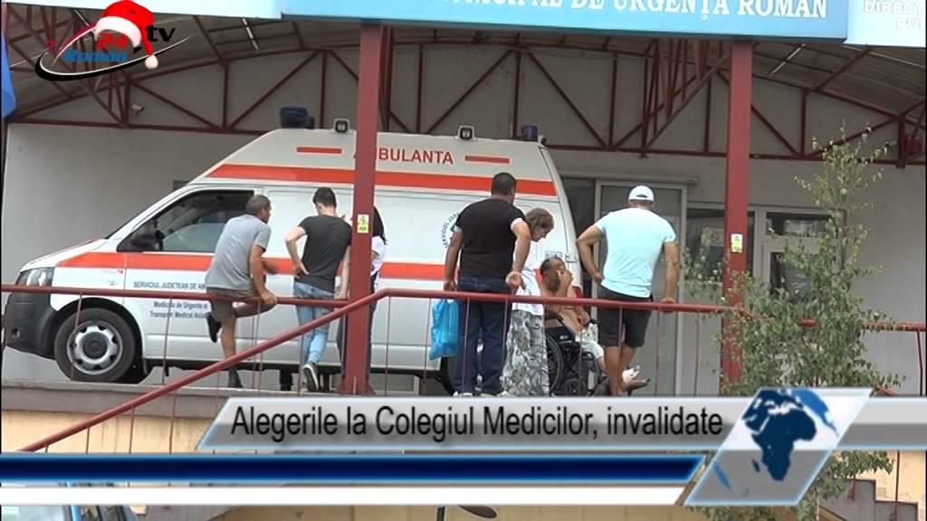 Alegerile la Colegiul Medicilor, invalidate