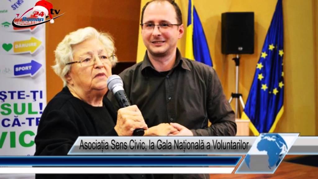 Asociația Sens Civic, la Gala Națională a Voluntarilor