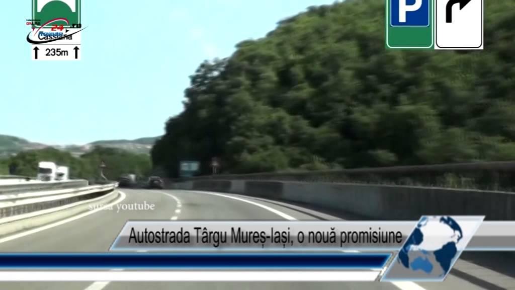 Autostrada Târgu Mureș-Iași, o nouă promisiune