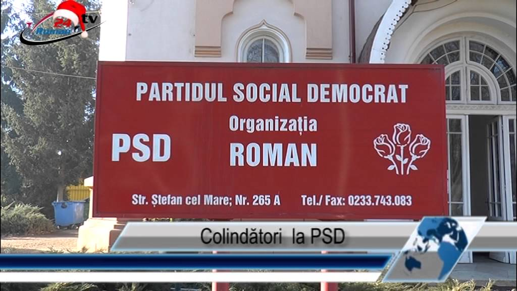 Colindători  la PSD